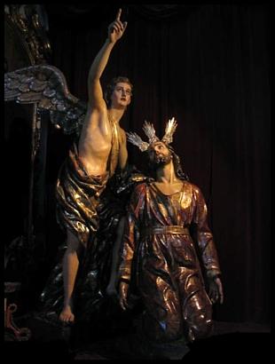 Jesús de la Oración en el Huerto. Foto de la Hornacina.