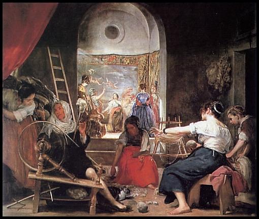 La fábula de Aracne, Diego Velázquez
